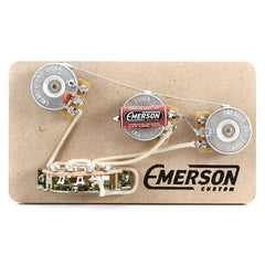 Emerson Custom Strat 5-Way Prewired Kit (250K Pots / 0.047uf)