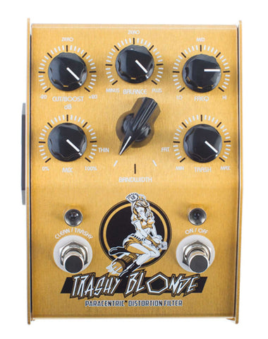 Stone Deaf FX Trashy Blonde Overdrive Pedal - front