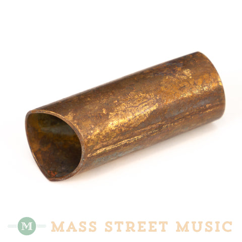 Rock Slide - Aged Brass Guitar Slide - Small
