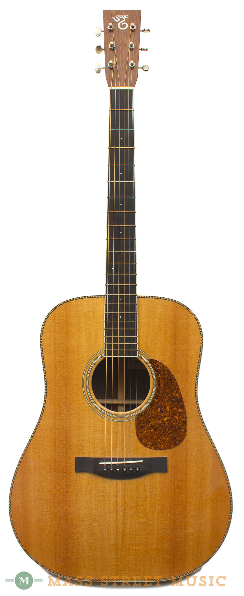 santa cruz dh 2006 used acoustic guitar with original hardshell case mass street music store. Black Bedroom Furniture Sets. Home Design Ideas