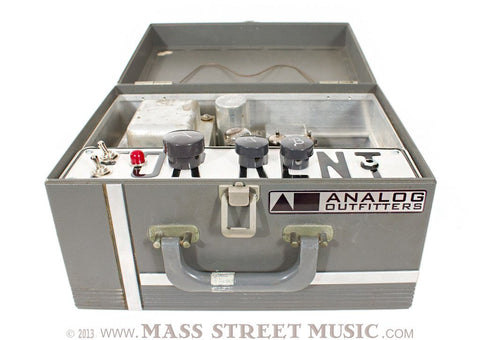 "Analog Outfitters Sarge ""For Rent"" Amp - full open"