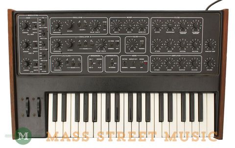 Sequential Circuits Pro One Model 100 Synthesizer - top