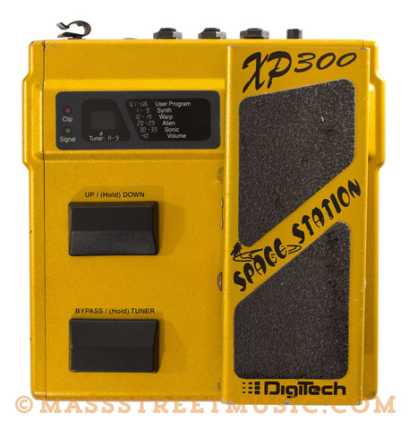 Digitech Space Station XP300 Pedal - front