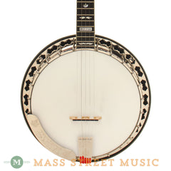 Stelling Used Red Fox Resonator Banjo - front close