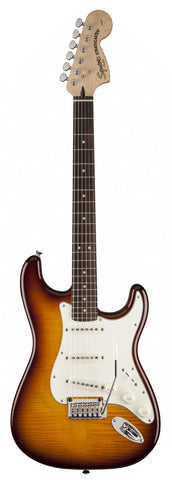 Squier Standard Stratocaster FMT Flame Maple Top Burst - stock