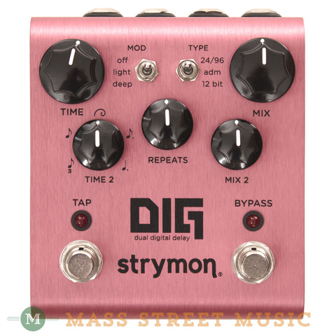 Strymon DIG Dual Digital Delay Pedal - front