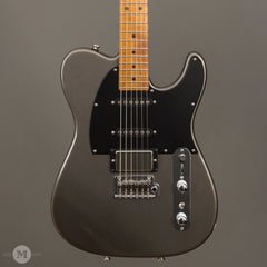 Tom Anderson Electric Guitars - T Classic Hollow Shorty - Metallic Charcoal - Front Close