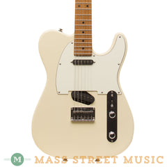 Tom Anderson Electric Guitars - T Classic Shorty Hollow - Blonde - Front Close