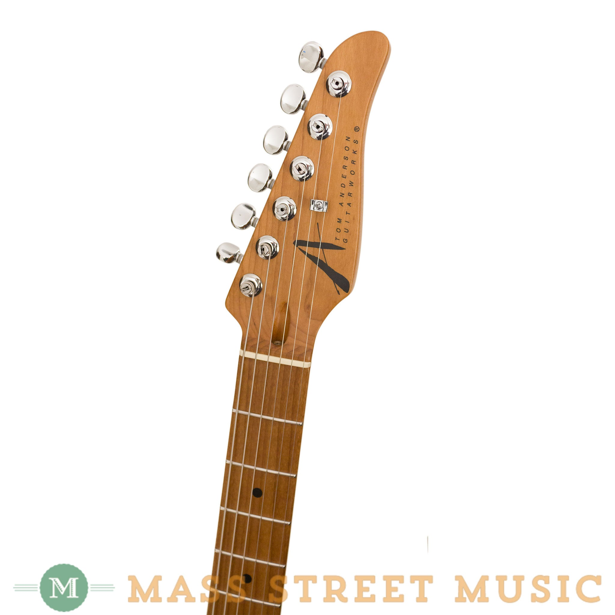 Tom Anderson Electric Guitars - T Classic Shorty Hollow - Blonde ...