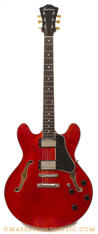 Eastman T386 Thinline Transparent Red Used - front