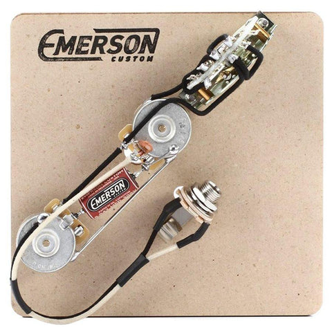 Emerson Custom Thinline Tele 3-Way Prewired Kit (250K Pots / 0.047uf)