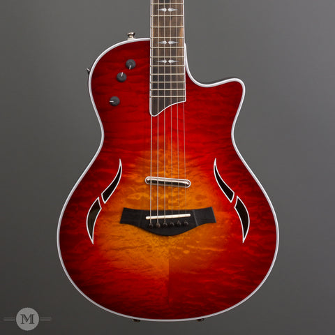 Taylor Electric Guitars - T5z Pro LTD - Aged Cherry Burst - Front Close