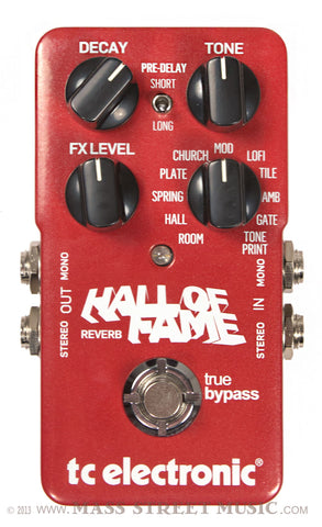 Hall of Fame Reverb - Front
