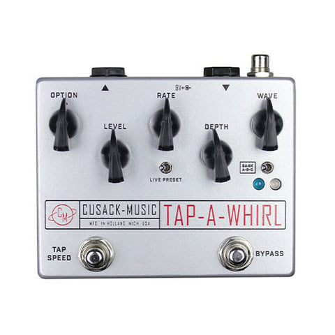 Cusack Effects - Tap-A-Whirl Tremolo V3 (silver)