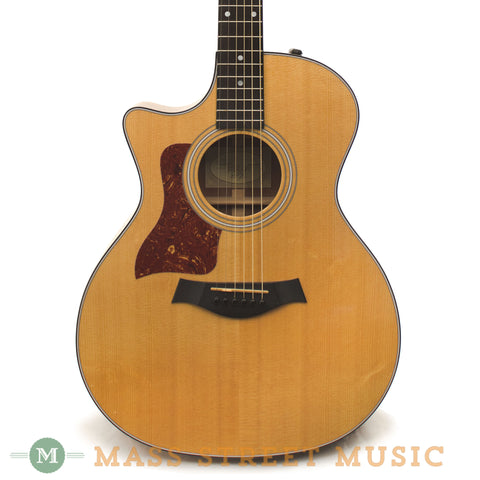 Taylor 314ce Lefty 2011 Used Acoustic Guitar - front close