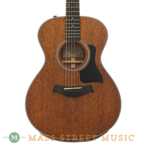 Taylor 322e Mahogany Acoustic Guitar - front close