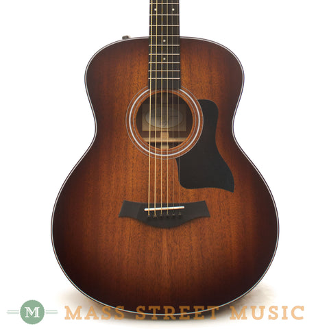taylor 326e baritone acoustic guitar with hard case mass street music store. Black Bedroom Furniture Sets. Home Design Ideas