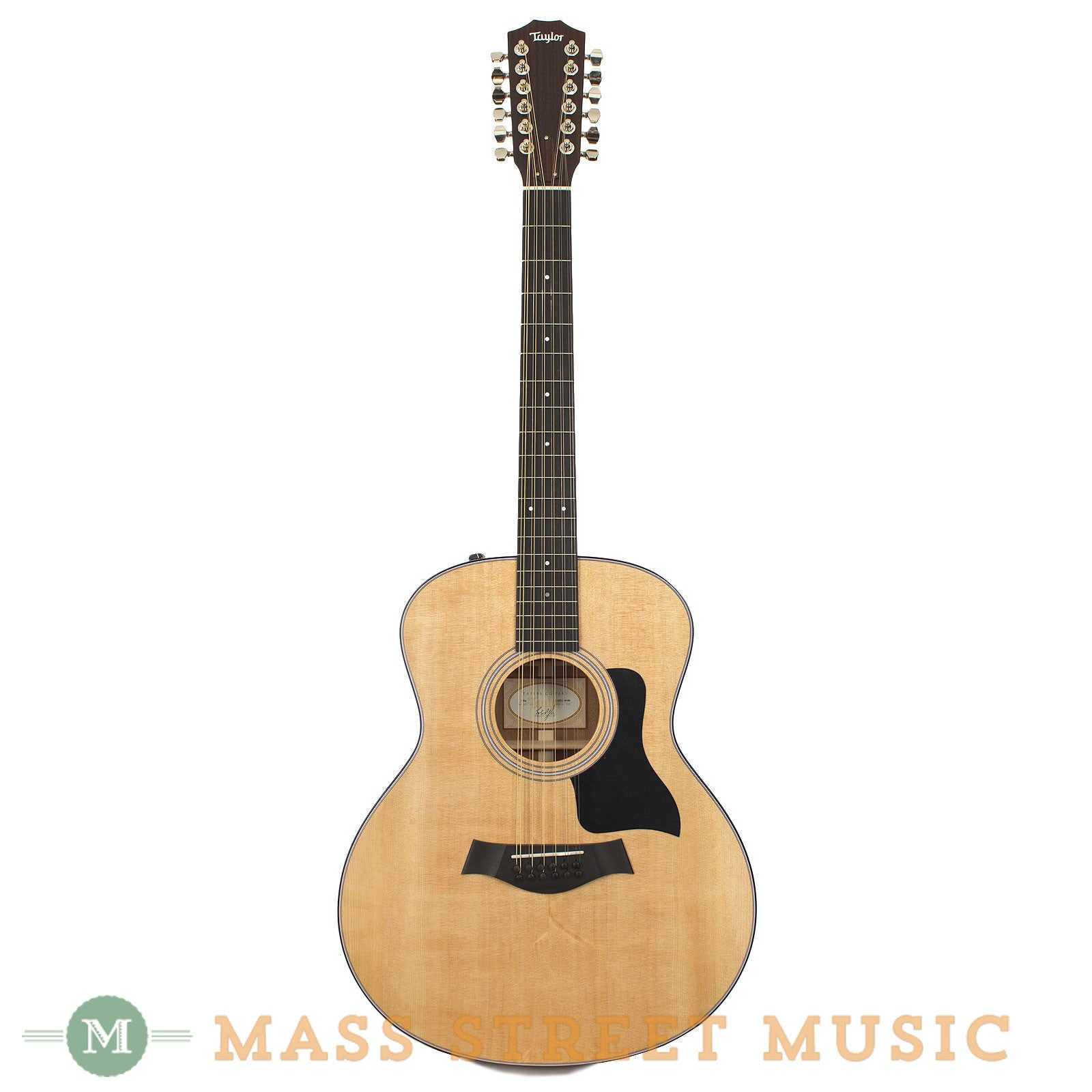 taylor 356e 12 string acoustic guitar with expression system 1 mass street music store. Black Bedroom Furniture Sets. Home Design Ideas