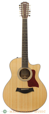 Taylor 456ce 12-string Acoustic Guitar - front