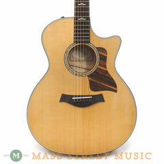 Taylor 614ce Grand Auditorium Acoustic Guitar - front close