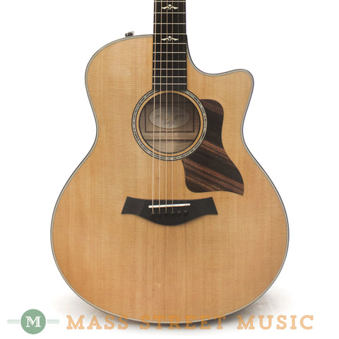 Taylor 616ce Acoustic Guitar - front close