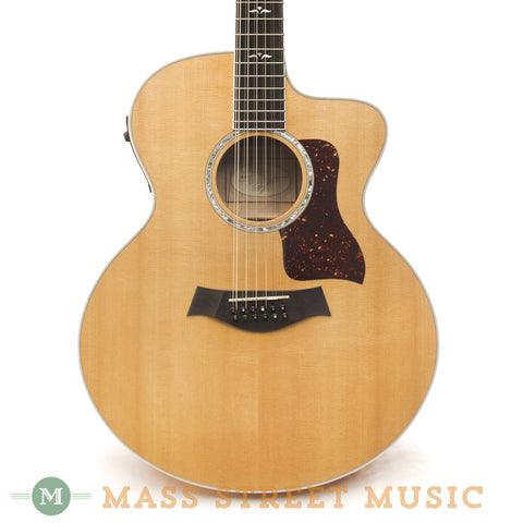 Taylor 655-CE 12-string Acoustic Guitar - front close