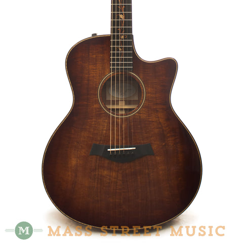 Taylor K26ce Acoustic Guitar - front close
