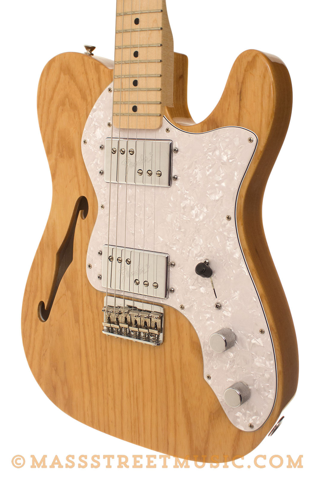 fender classic series 39 72 thinline tele used with deluxe gig bag mass street music store. Black Bedroom Furniture Sets. Home Design Ideas