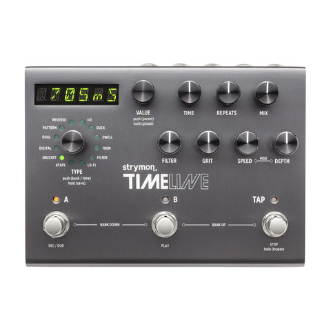 Strymon Effect Pedals - Timeline