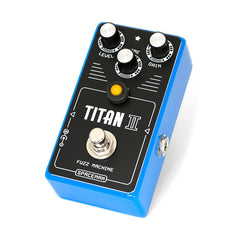 Spaceman Effects - Titan II Fuzz Machine Blue Edition - Front