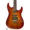 Tom Anderson Hollow Drop Top Koa Electric Guitar - front close