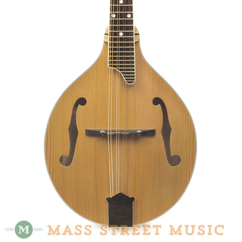 Triggs Custom A-Style Mandolin - front close