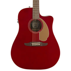 Fender Acoustic Guitars - Redondo Player - Candy Apple Red WN