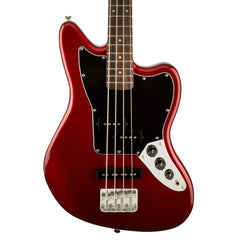 Squier - Jaguar Special SS Vintage Modified Bass - Candy Apple Red - Front Close