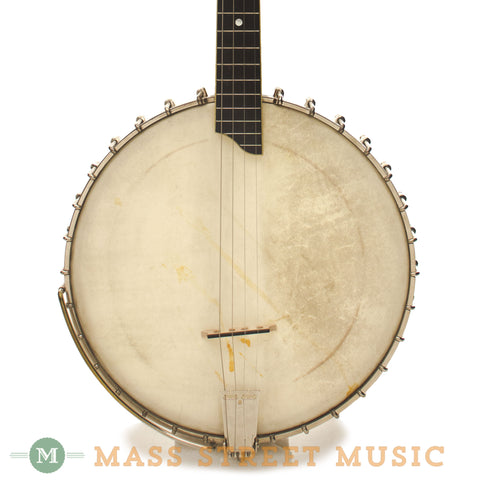 Vega Little Wonder Tenor Banjo 1927 Used - front close