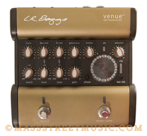 LR Baggs Venue Direct-In Pedal Used - front