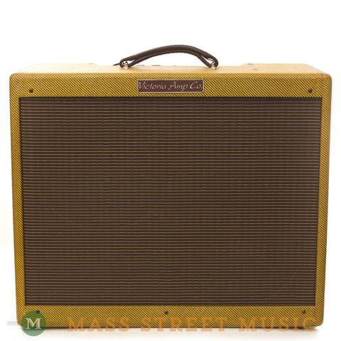 Victoria Double Deluxe 2x12 Combo Used - front