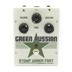 Stomp Under Foot - Vintage Green Russian