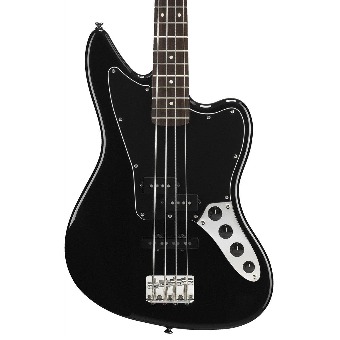 squier vintage modified jaguar bass special black mass street music store. Black Bedroom Furniture Sets. Home Design Ideas