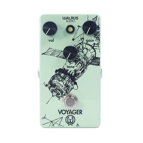 Walrus Audio - Voyager Preamp/overdrive - Front Stock
