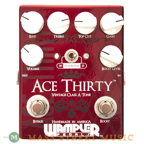 Wampler Ace Thirty Overdrive Pedal Used - front