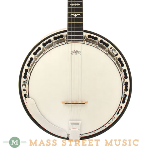 Washburn B-14 5-string Resonator Banjo - front close