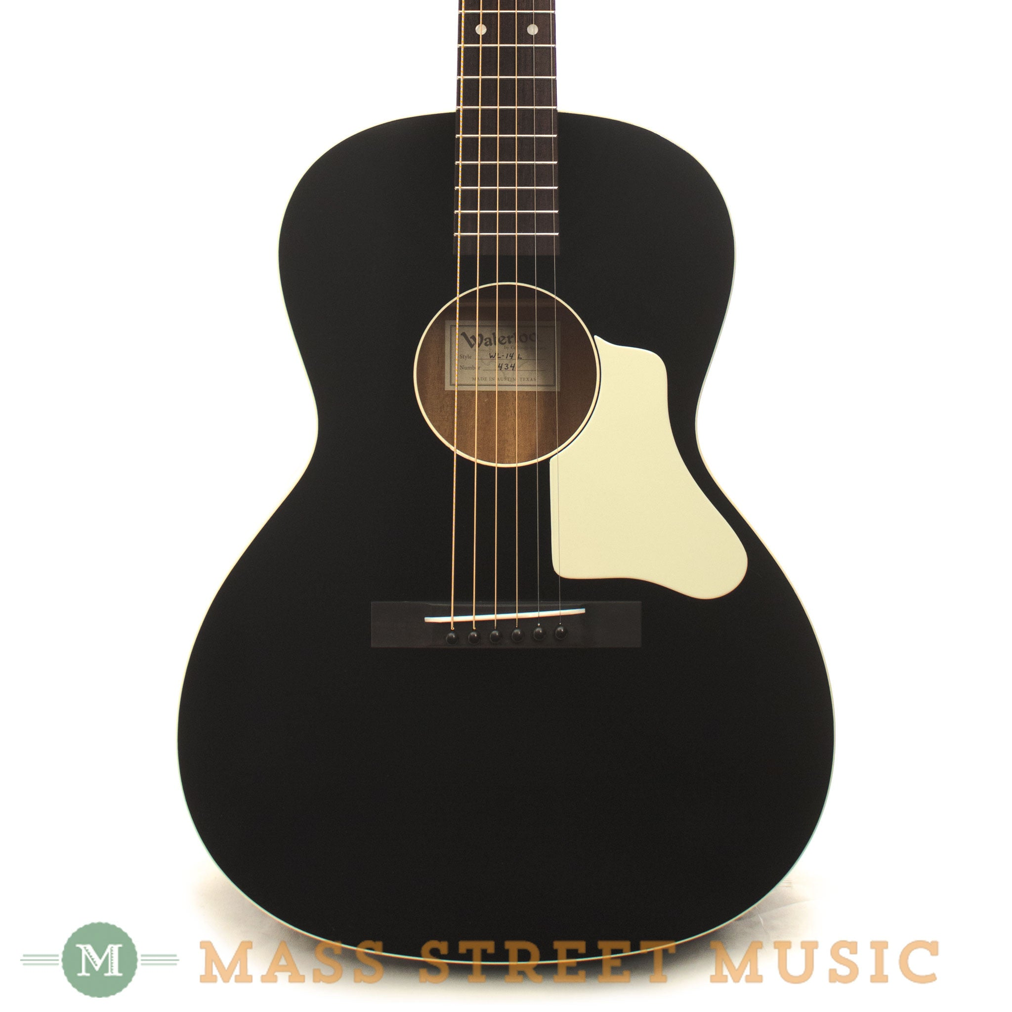 Waterloo By Collings Wl 14 L T Bar Acoustic Guitar Mass Street
