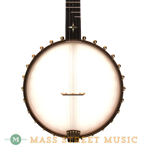"OME Banjos - Wizard 12"" Open-Back - Front Close"