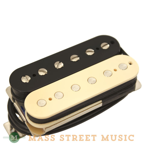 Wolfetone Dr. Vintage Bridge Humbucker with Zebra Cover - front