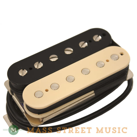 Wolfetone Dr. Vintage Neck Humbucker with Zebra Cover - front