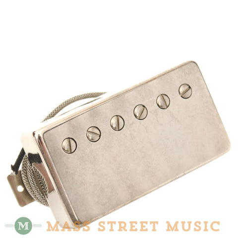Wolfetone Legends Neck Humbucker with Aged Nickel Cover - front