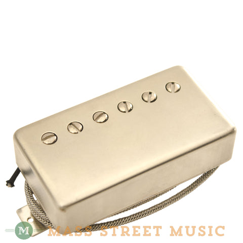 Wolfetone Legends Neck Humbucker with Raw Nickel Cover - front