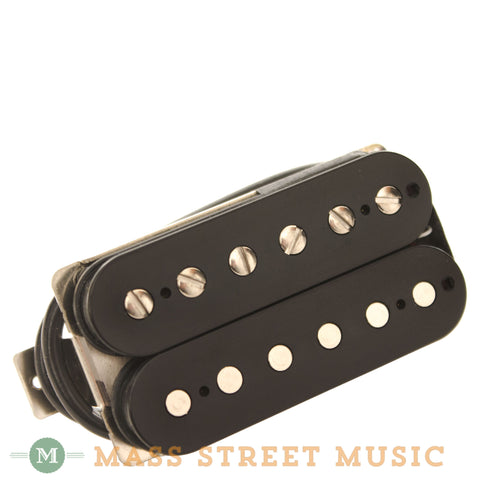Wolfetone Marshallhead Neck Humbucker with Black Cover - front