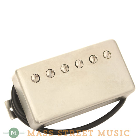 Wolfetone Dr. Vintage Humbucker Bridge - Raw Nickel Cover - 4 Cond